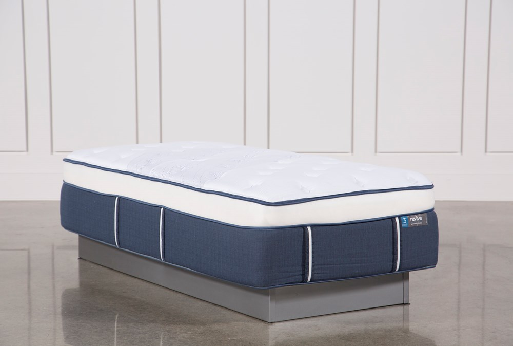 Blue Springs Plush Twin Extra Long Mattress