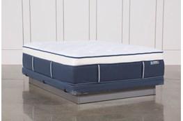 Blue Springs Plush Queen Mattress W/Low Profile Foundation