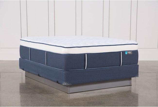 Blue Springs Firm Queen Mattress W/Foundation - 360