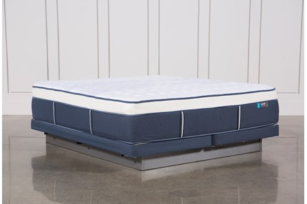 Blue Springs Firm Eastern King Mattress W/Low Profile Foundation