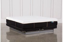 Copper Hybrid Firm Eastern King Mattress W/Low Profile Foundation