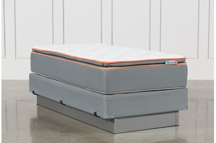 Activize Plush Twin Mattress W/Foundation