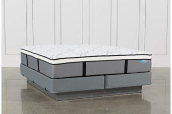 Grey Springs Firm California King Mattress W/Foundation