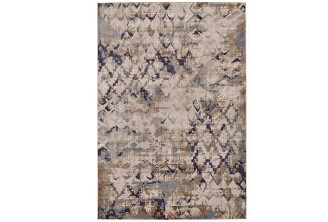 60X96 Rug-Distressed Geometric Camel - 360