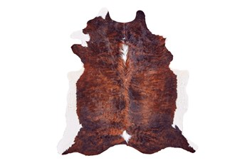 48X72 Rug-Oscar Cowhide Exotic Dark Small