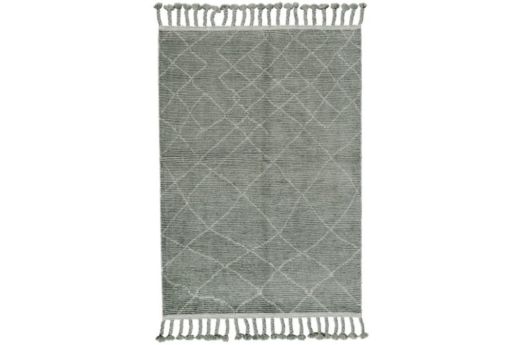 93X117 Rug-Maceo Ash Grey