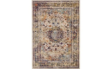 60X96 Rug-Gish Sienna And Blue