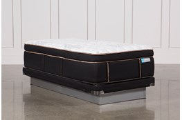 Copper Springs Firm Twin Xl Mattress W/Low Profile Foundation