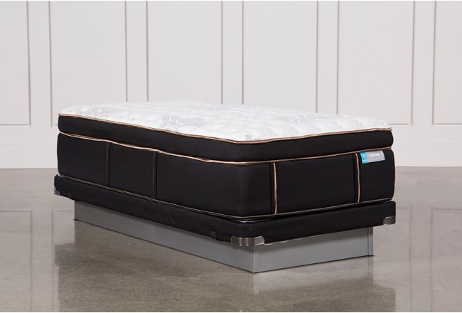 Copper Springs Firm Twin Xl Mattress W/Low Profile Foundation - 360