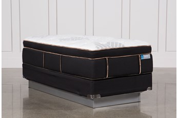 Copper Springs Plush Twin Extra Long Mattress W/Foundation