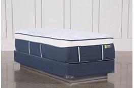 Blue Springs Medium Twin Extra Long Mattress W/Foundation