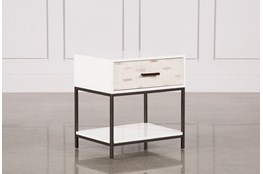 "Elden 1-Drawer 26"" Nightstand"