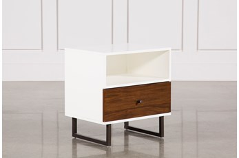 Clark 1-Drawer Nightstand