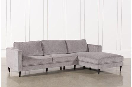 Cosmos Grey 2 Piece Sectional W/Raf Chaise