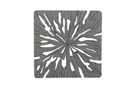 48 Inch Grey Carved Wall Panel