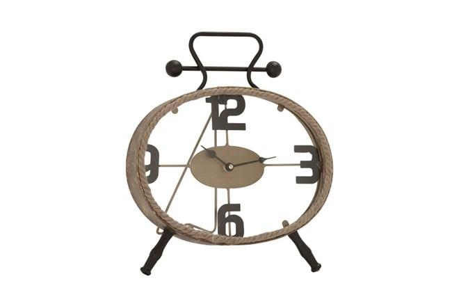 13 Inch Metal Rope Clock - 360