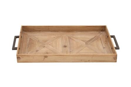 3 Inch Wood Metal Tray