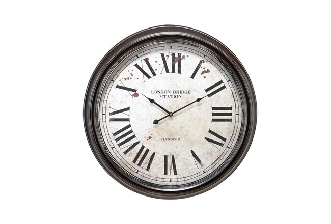 24 Inch London Bridge Wall Clock - 360