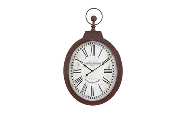 34 Inch Louis De Bainaid Wall Clock