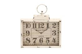 15 Inch White Grand Hotel Wall Clock