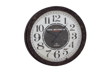 31 Inch Hotel Westminster Wall Clock