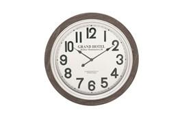 31 Inch Grand Hotel Wall Clock