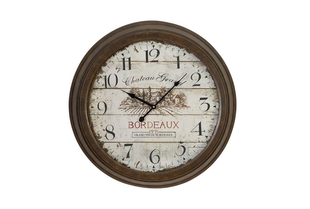 23 Inch Chateau Grand Wall Clock