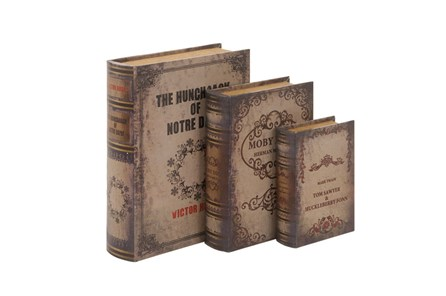 3 Piece Set The Classics Book Box