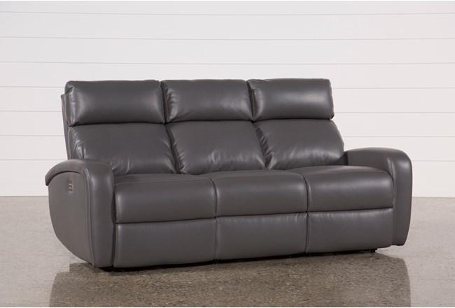 Darwin Graphite Power Reclining Sofa - 360