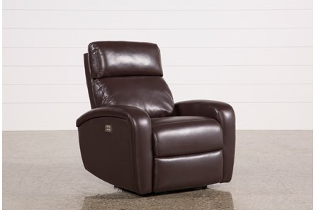 Darwin Chocolate Power Wallaway Recliner