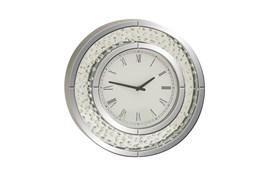 20 Inch Glam Round Wall Clock