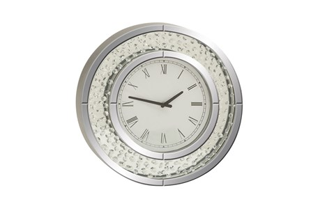 20 Inch Glam Round Wall Clock