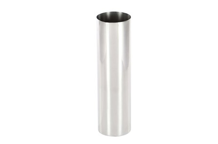 14 Inch Silver Smooth Vase