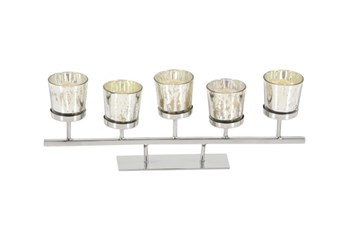 5 Inch Mercury 6-Votive Holder