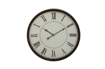 20 Inch Roman Numeral Wall Clock