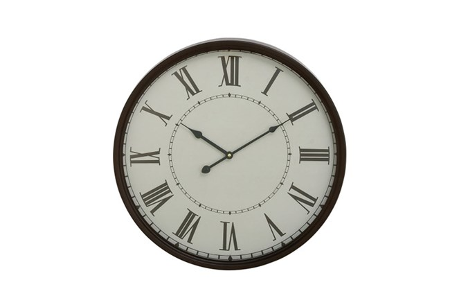 20 Inch Roman Numeral Wall Clock - 360