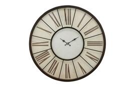 27 Inch Roman Numeral Wall Clock