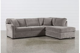 KIT-ASPEN 2 PIECE SLEEPER SECTIONAL W/RAF CHAISE