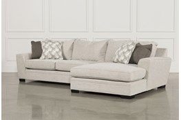 Delano 2 Piece Sectional W/Raf Oversized Chaise