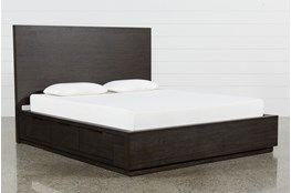 Pierce Eastern King Panel Bed With Storage