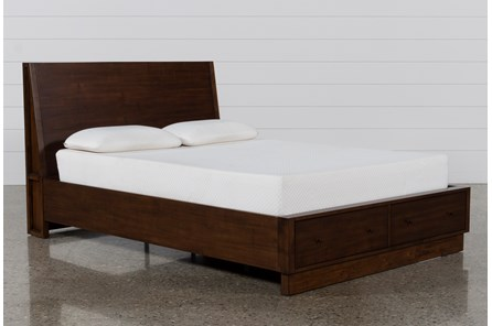 Maverick Queen Panel Bed W/Storage