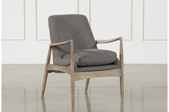 Smoked Grey Club Chair