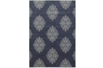 118X154 Rug-Abanu Blue
