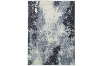 63X87 Rug-Marshall Ink Blue