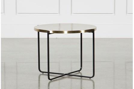 Brass Metal Side Table