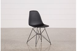 Alexa Black Dining Side Chair