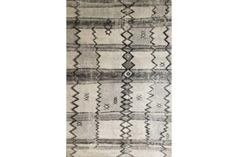 93X126 Rug-Mikuni Tribal Grey