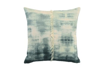 Accent Pillow-Aqua Diamond Maze 18X18