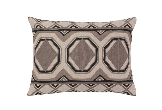 Accent Pillow-Taupe Tiles 12X16 - 360
