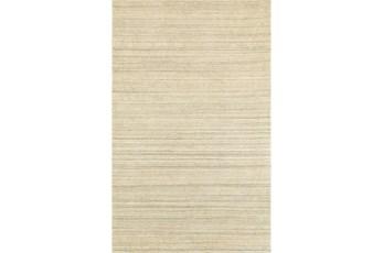 60X96 Rug-Karina Natural Wool Stripe